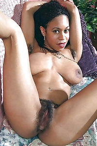 Black Hairy Pussy
