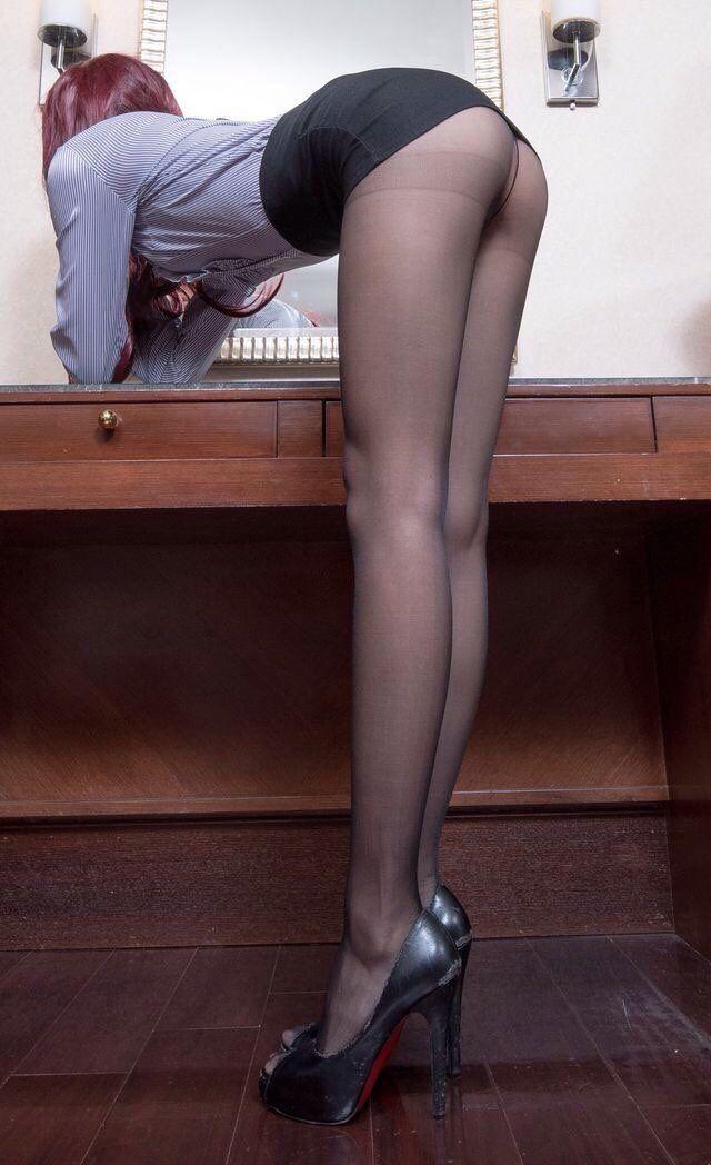 Strip pics bend over pantyhose sex