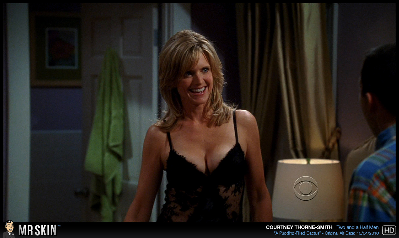 Courtney thorne smith upskirt