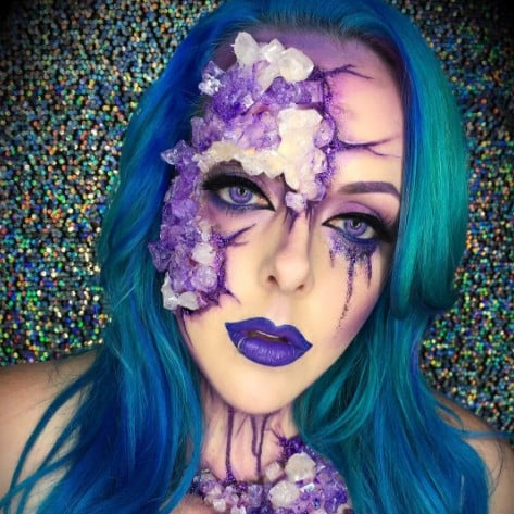 Adult halloween face painting ideas