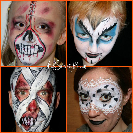 best of Painting face Adult ideas halloween