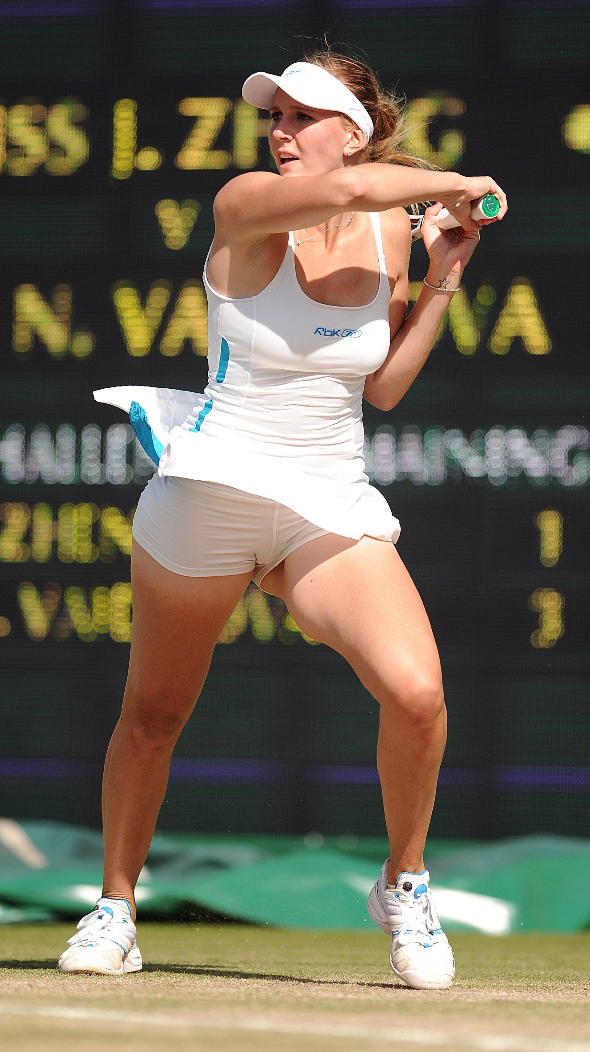 Sexy tennis upskirt shots