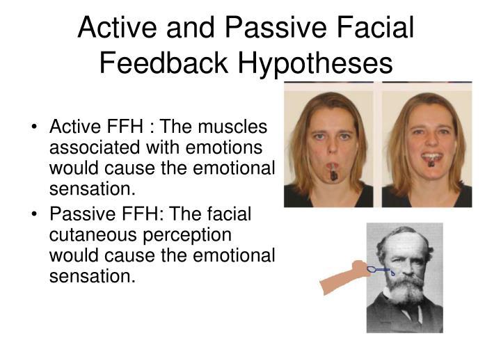 Dark M. reccomend Facial feedback hypothesis powerpoint