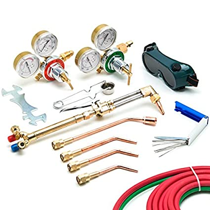 Power fist harris style welding kit