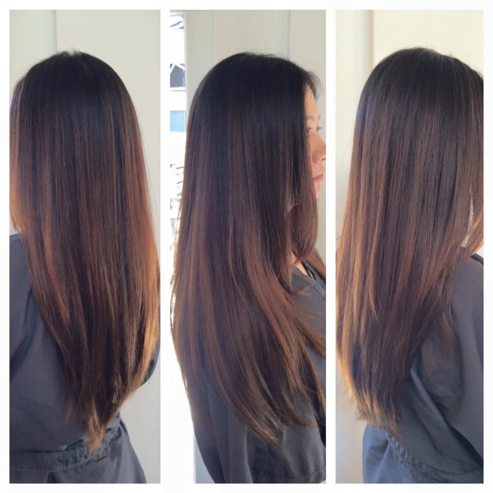 Asian hair highlight