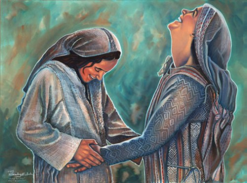 Ginger reccomend The visitation of the virgin to his holy cousin isabel