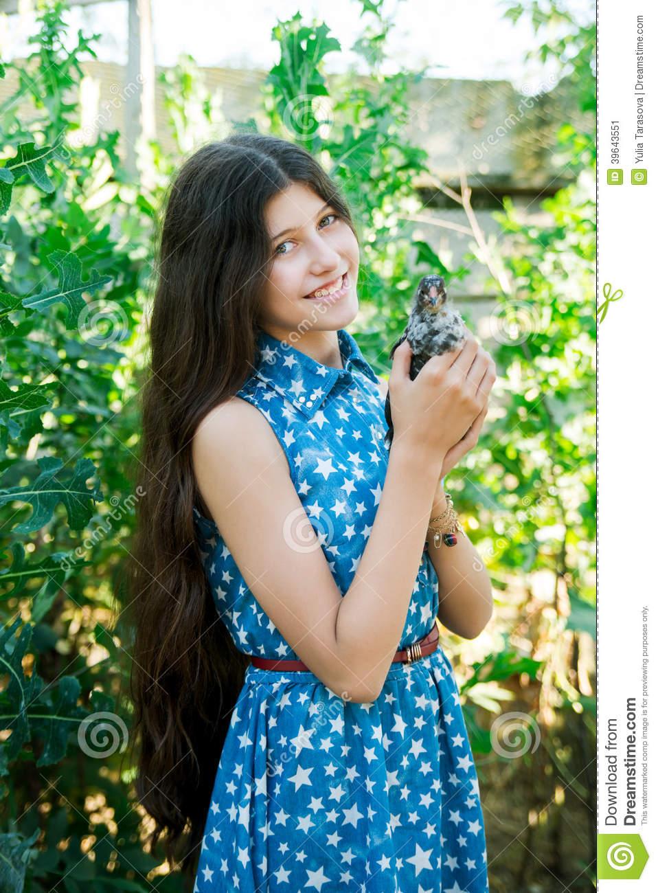 Beautiful teen farm girls