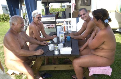 Open minded nudist