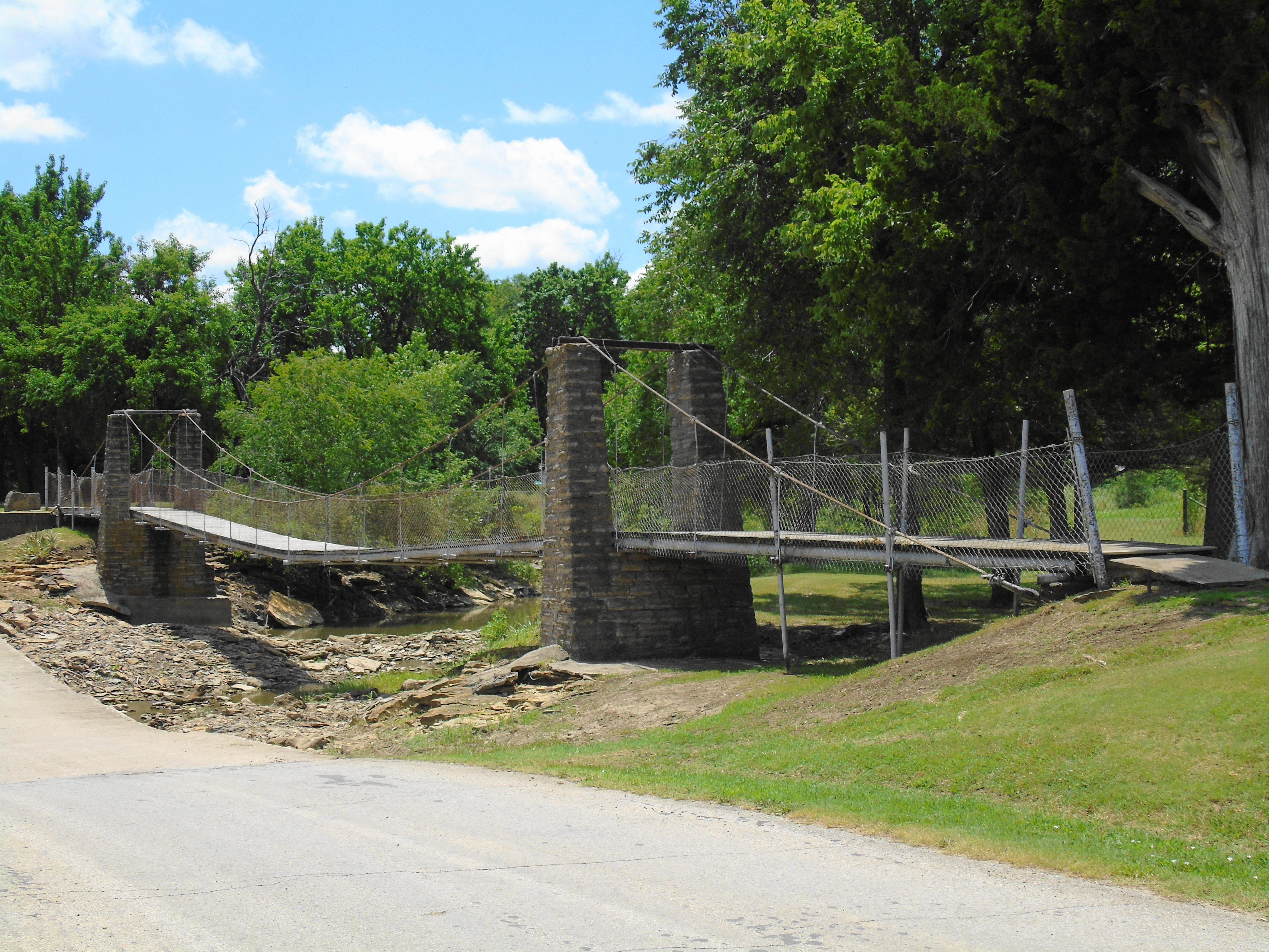 Old swinging bridge at burnsville wv - Nude Images