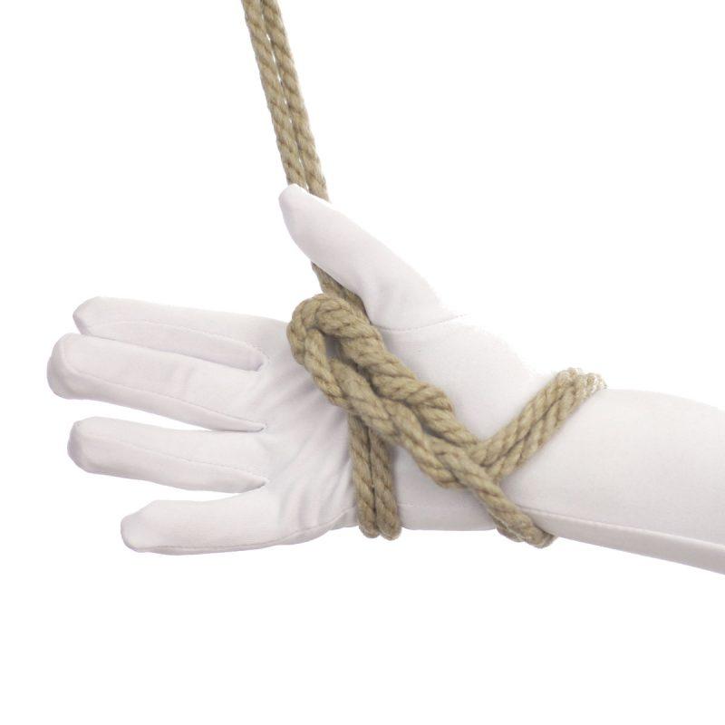Cats paw knot bondage