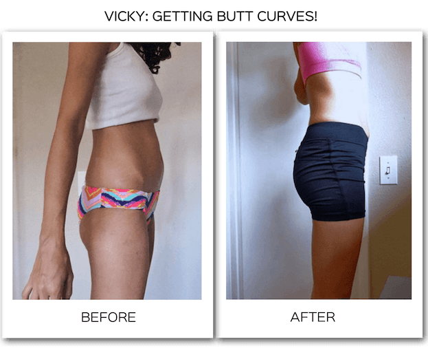 Exercises for a flat butt