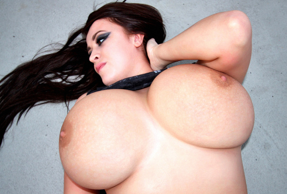 Enourmous huge busty boobs