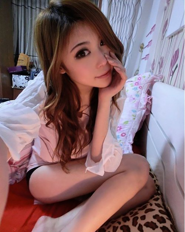 Cute Chinese Teen on Webcam