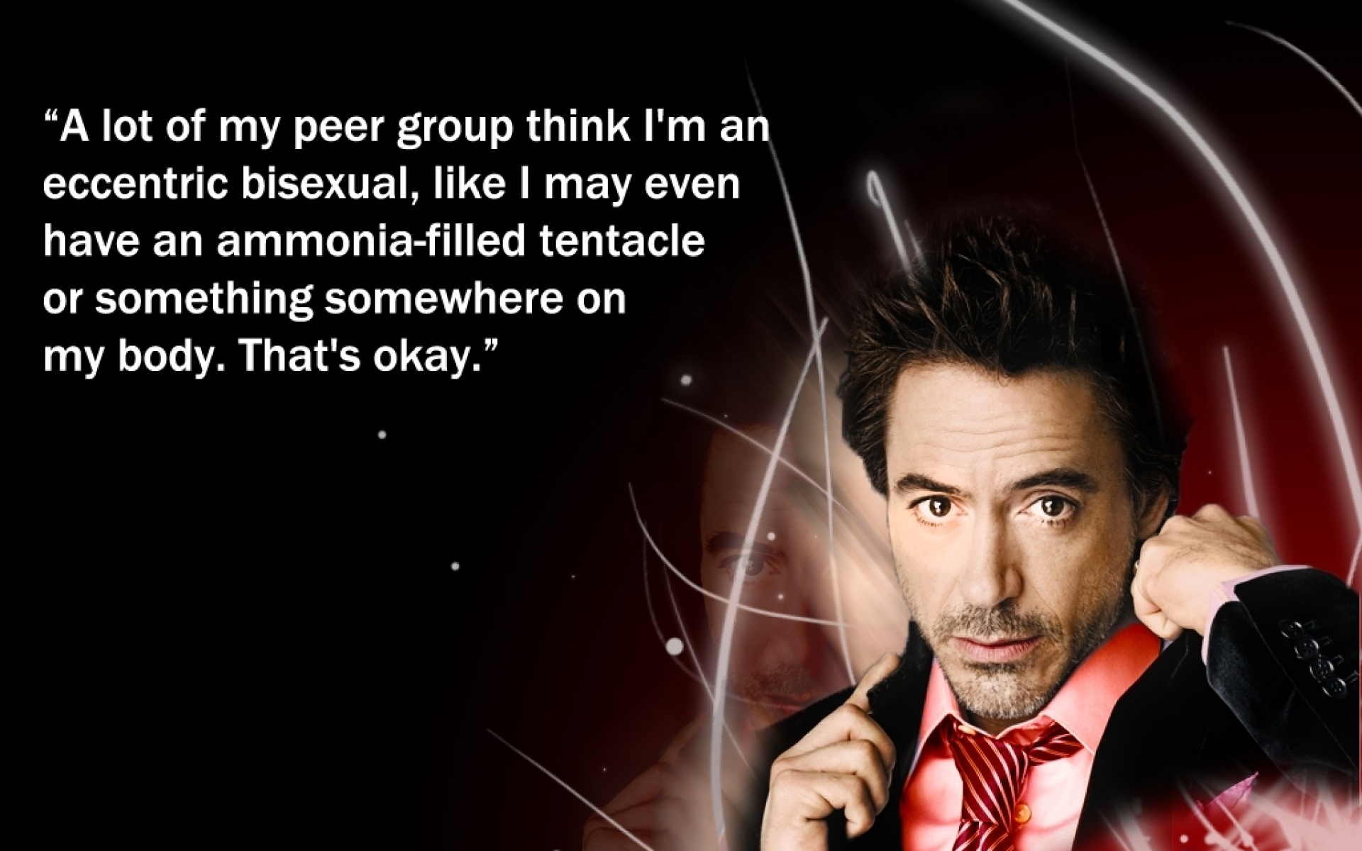 Robert downey jr bisexual