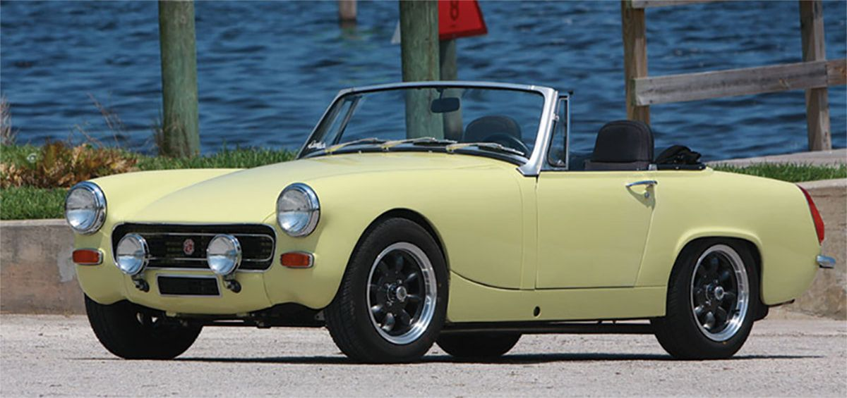 Mg midget parts and accessories