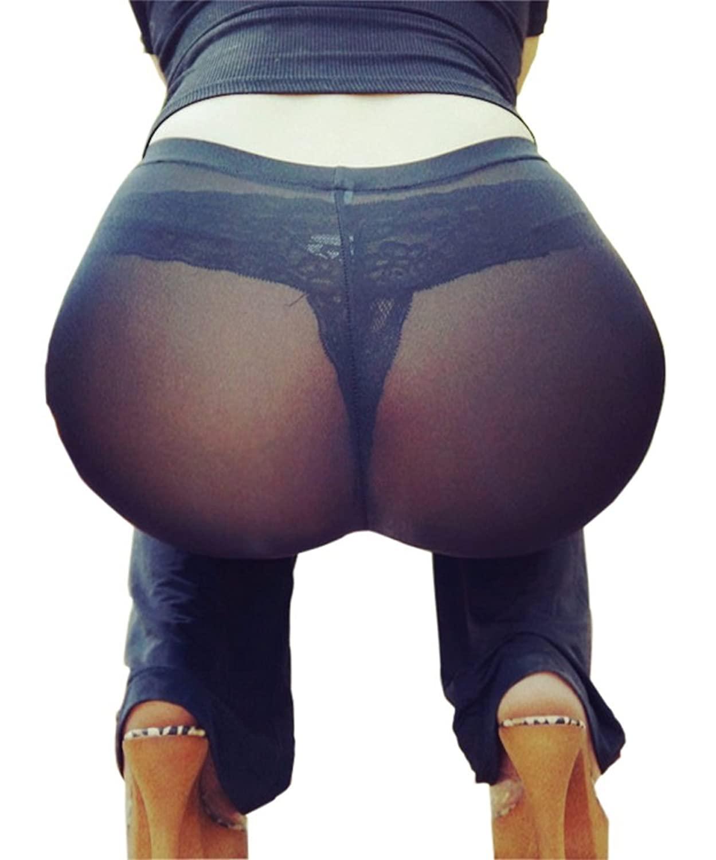 Milfy see thru tights