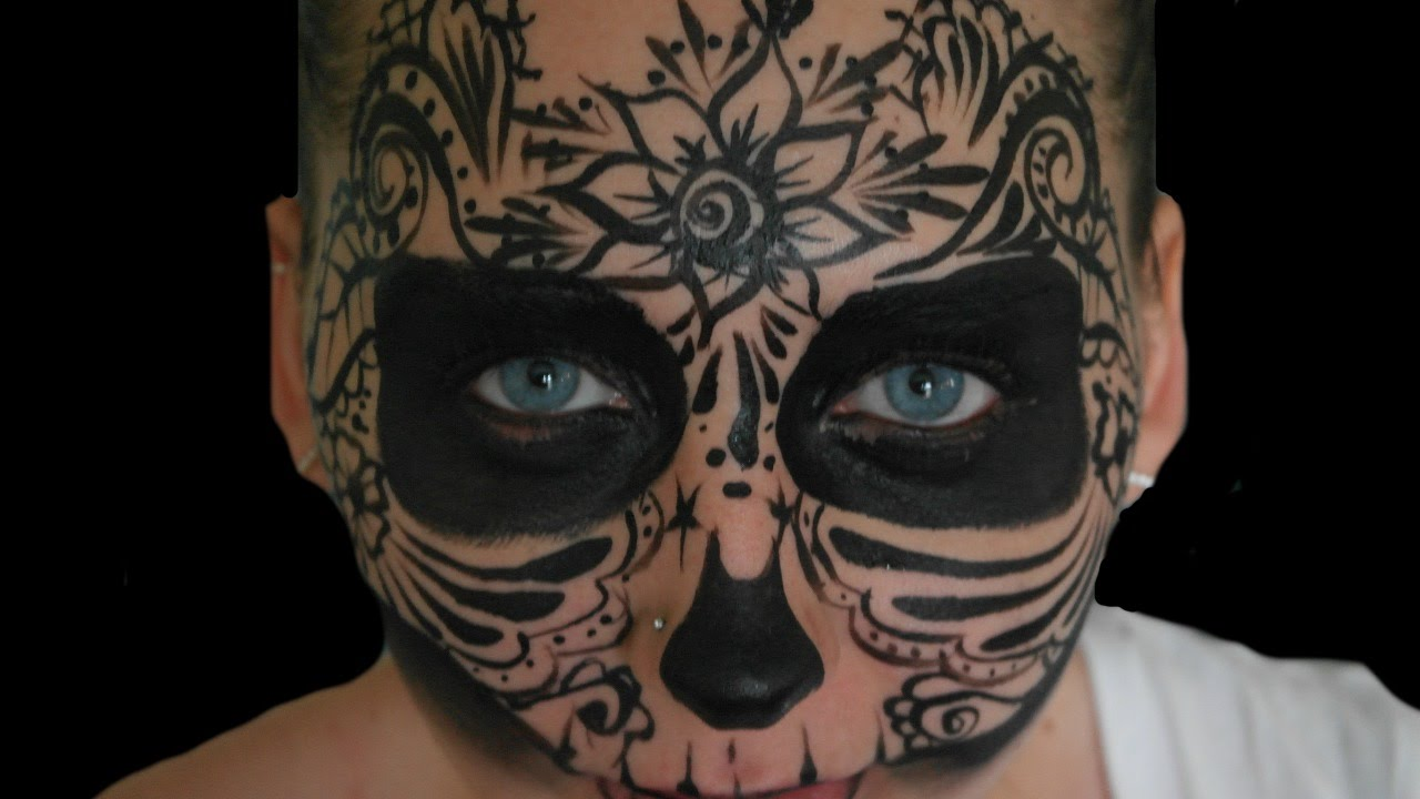 Mizzen reccomend Adult halloween face painting ideas