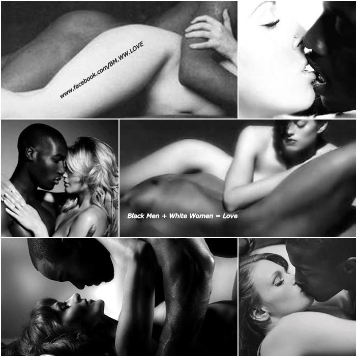 Black in white interracial sex