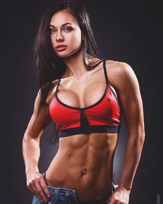 best of Hard Body busty sexy fitness female
