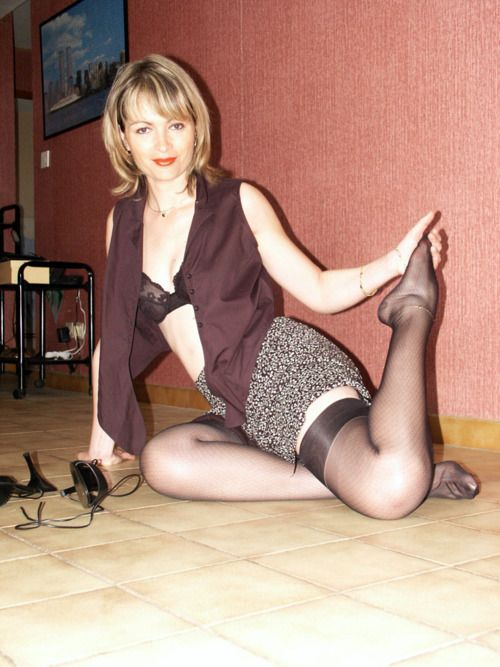 Advise Mature housewife in pantyhose are
