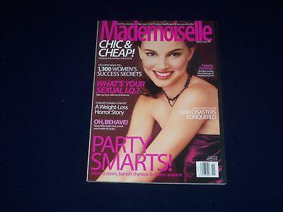 Natle portman hustler november 1999