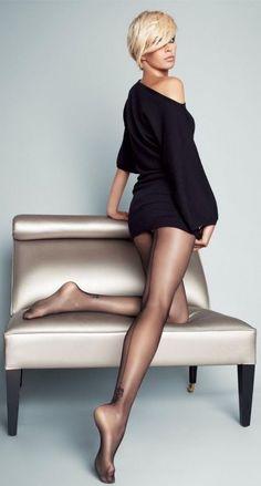 theron movie Charlize pantyhose