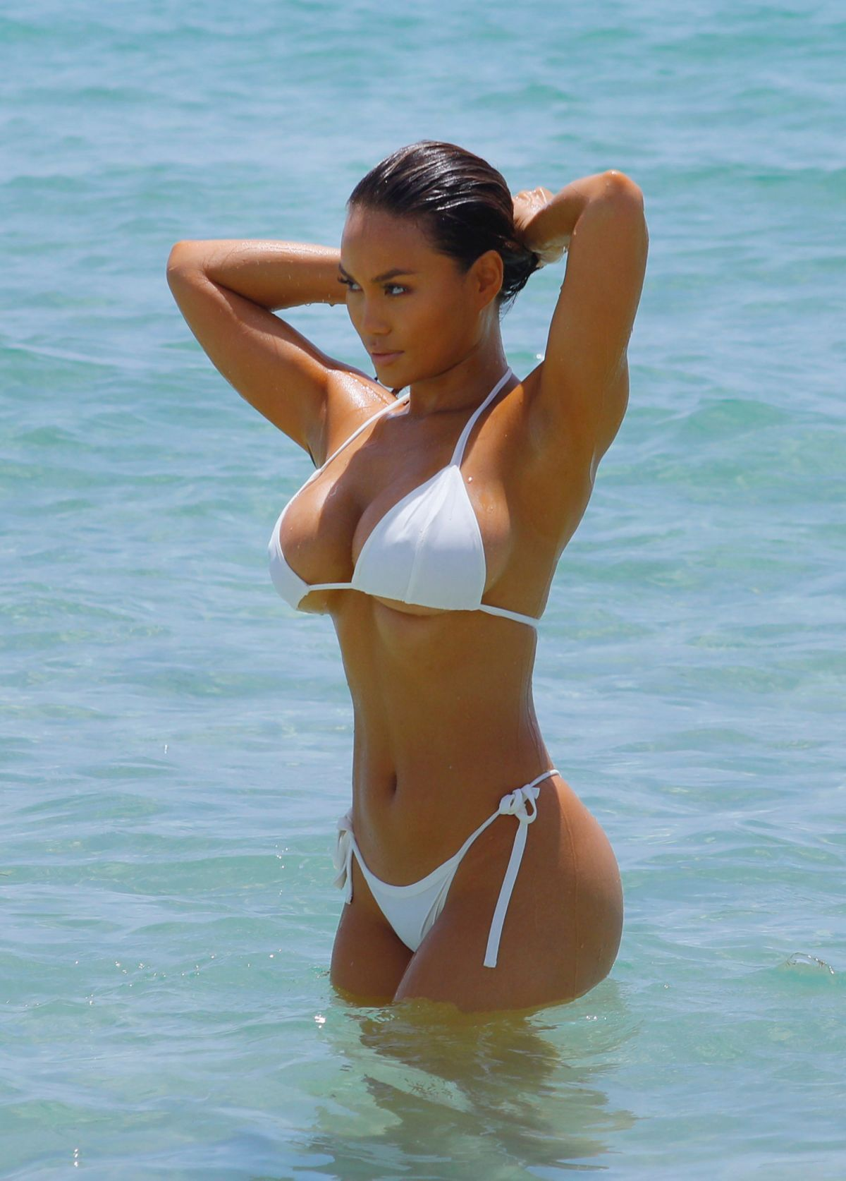 best of Wet white bikini Daring
