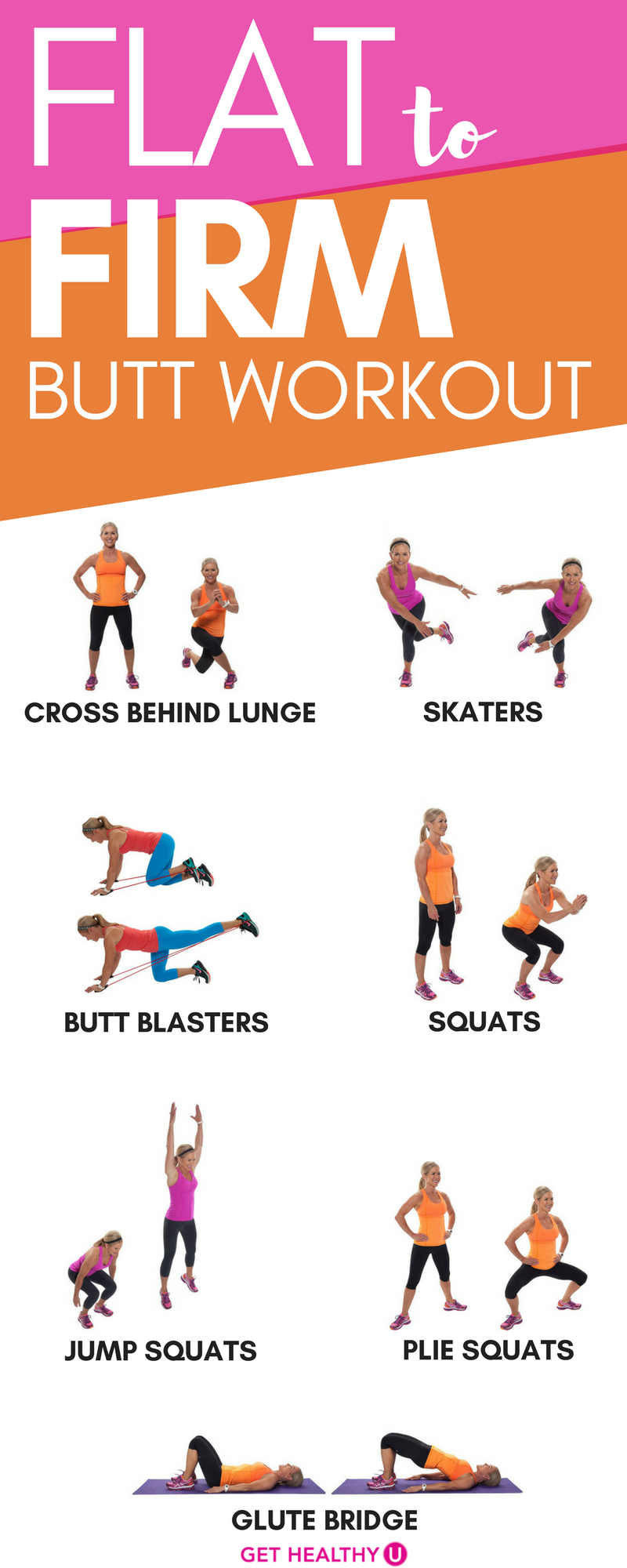 best of For flat butt a Exercises