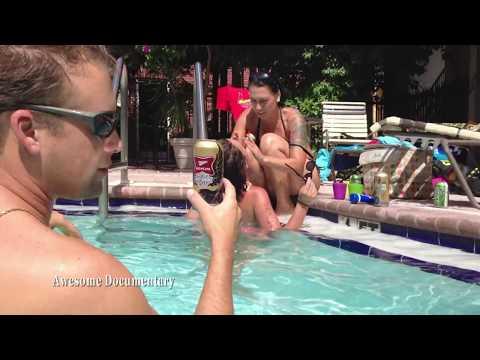 Bikini off underwater