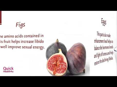 Food which helps penis growth