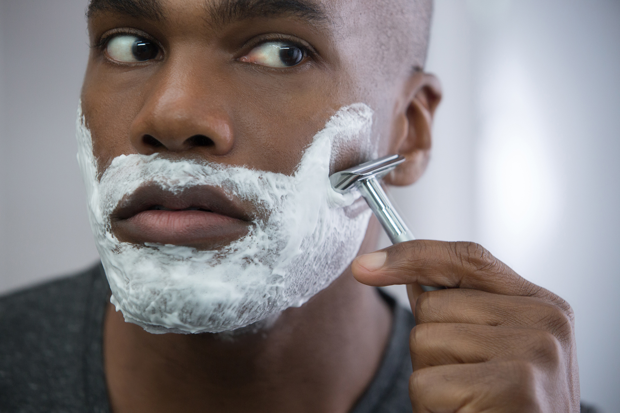 Troubleshoot reccomend Guys being shaved