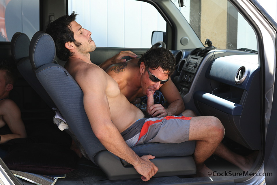 Gay men sex in cars porn