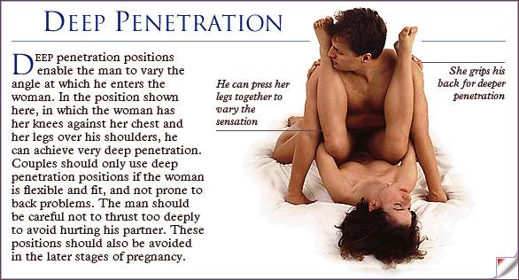 best of Penetration Positions for deep that allow