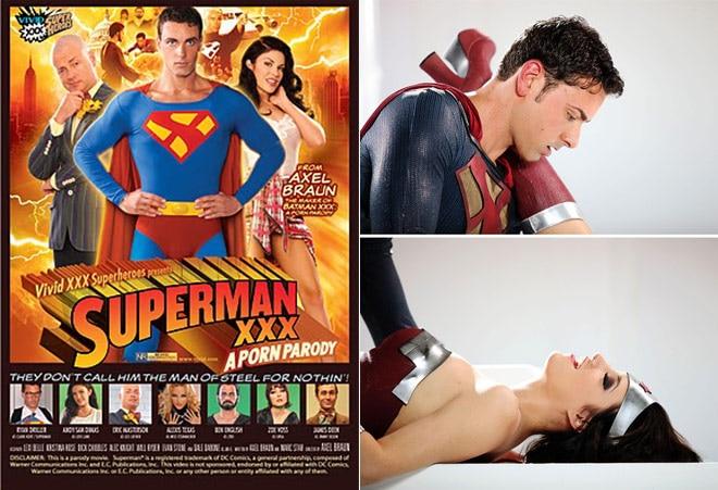 Superman xxx parody