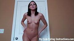 Stargazer reccomend cum eating instruction