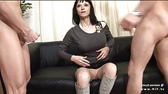 French milf casting